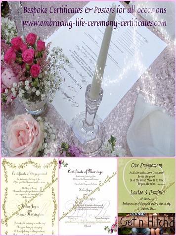 Heirloom Wedding Certificates Ireland