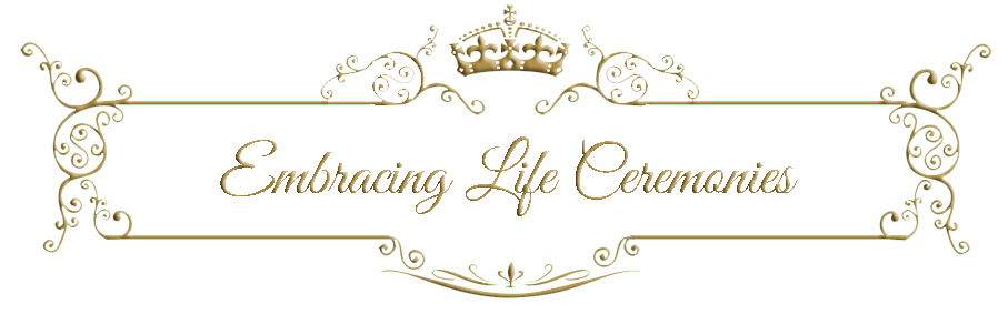 Embracing Life Ceremonies Logo Banner