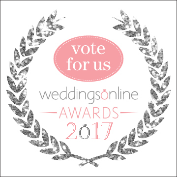 Embracing Life Ceremonies were chosen as a Nominee for the Weddings Online Awards 2017
